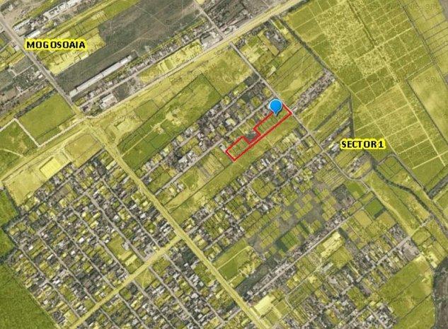 Teren lotizat - potential proiect rezidential - (zona L1) - imaginea 1