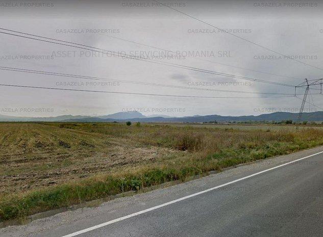 Teren intravilan 29.300 mp in Ghimbav - DN1, Brasov - imaginea 1