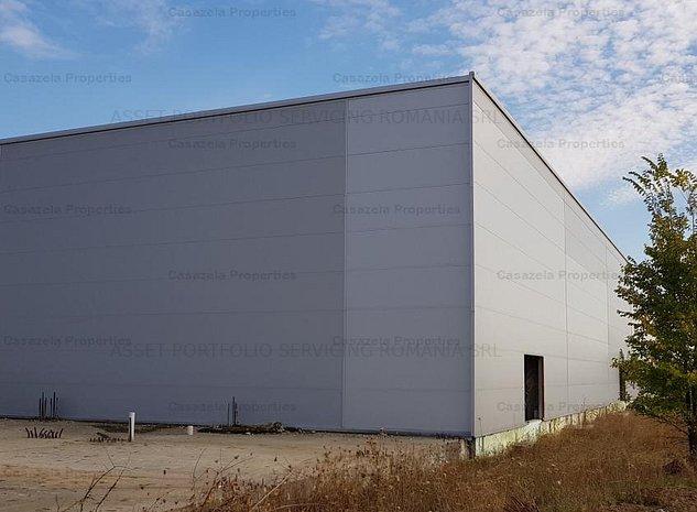 Vanzare teren de 6,848 mp cu hala industriala, Baneasa -Sos.Odai - imaginea 1
