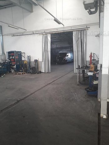 Hala showroom+service auto P+1E 1.895 mp Tudor Vladimirescu - imaginea 1