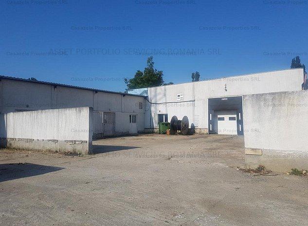 Spatiu cu destinatie industriala: atelier, sopron si teren de 1.500 mp - imaginea 1
