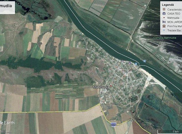Tulcea - Mahmudia - teren 3800mp, cu deschidere la Dunare  - imaginea 1