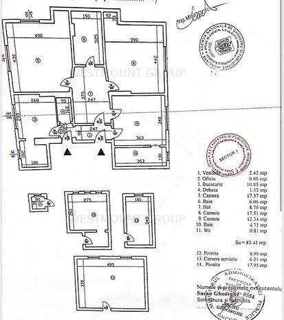 Vanzare casa stil brancovenesc Banu Manta Gara de Nord - imaginea 1