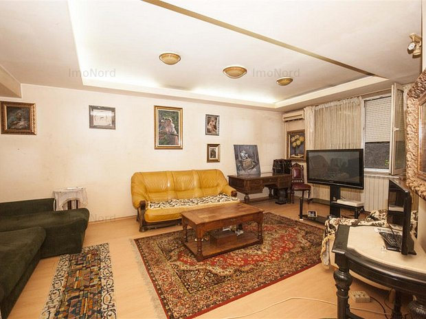 Herastrau apartament 3 camere langa Satul Francez - imaginea 1