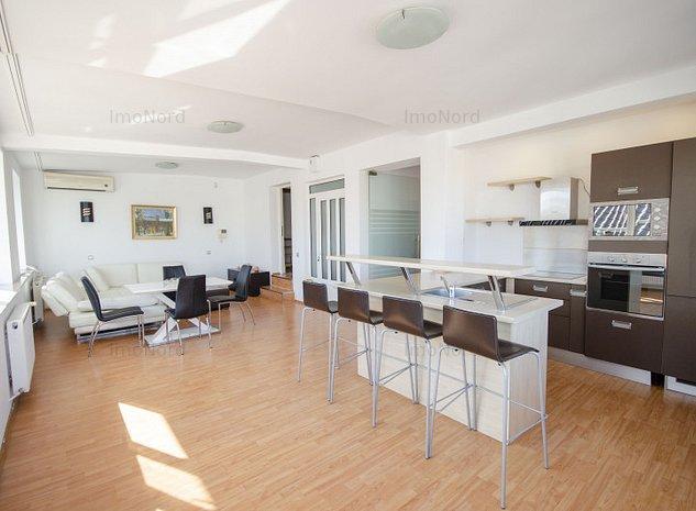 Inchiriere apartament tip duplex 3 camere zona Primaverii - imaginea 1