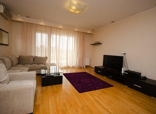 Herastrau inchiriere apartament 2 camere cu terasa - imaginea 1