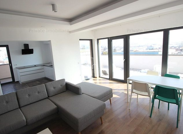 Penthouse 171 Mp Bloc Nou De Inchirat In Mures, Semicentral - imaginea 1
