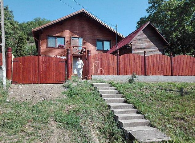 Casa 110 Mp Nou Construita pe Lemn cu 1600 Mp Teren, Curteni - imaginea 1
