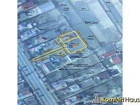 Teren constructii de vânzare, în Bacău, zona Central