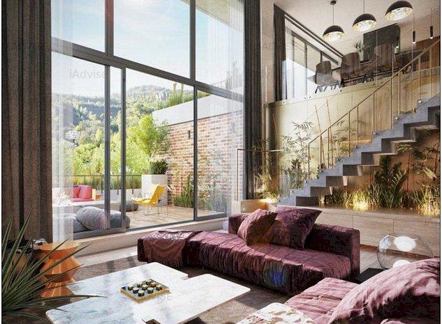 Penthouse 4 Camere, Proiect Rezidential Stejeris, Priveliste Deosebita - imaginea 1