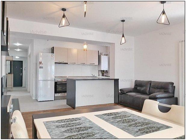 Apartament 3 Camere Inchiriere - Mobilat si Utliat Lux - imaginea 1