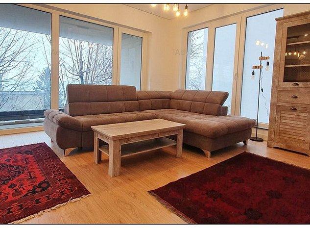 Apartament 3 camere Dealul Cetatii lux mobilat utilat - imaginea 1