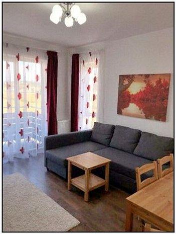 INCHIRIERE APARTAMENT 2 CAMERE + BIROU, MOBILAT/UTILAT, AVANTGARDEN 3 - imaginea 1