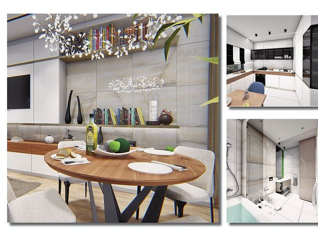 Valcom Residence,2 camere, Comision 0% - imaginea 1