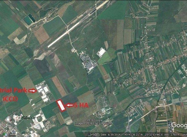 Teren Pretabil Constructii Industriale Sau Logistic - imaginea 1