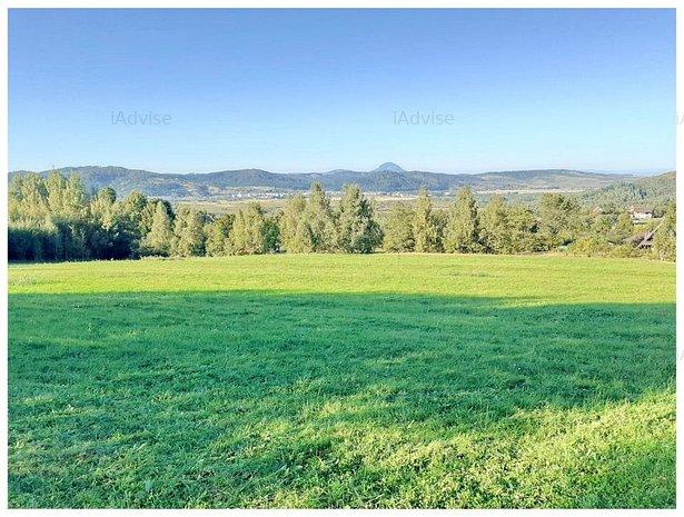 Teren Cu Priveliste Panoramica De Vanzare In Tohanita - imaginea 1