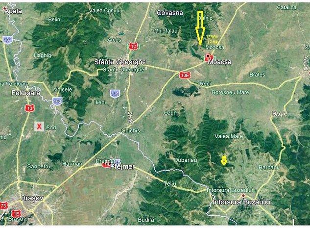 Teren pentru ferma Moacsa Covasna - imaginea 1