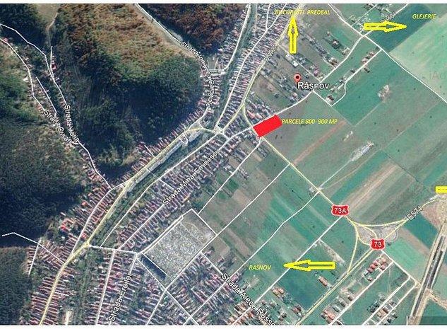 Rasnov parcele 800- 900 mp intrare Glejerie - imaginea 1