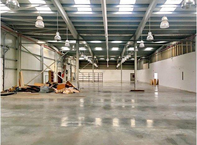 Hala industriala noua/Spatiu birouri in Centru logistic - imaginea 1