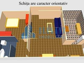Apartament de închiriat 2 camere, în Craiova, zona Craiovita Noua
