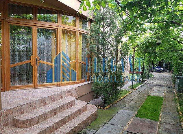 Vila, magazin, atelier, 350 mp utili + 600 mp teren, Romanesti - imaginea 1