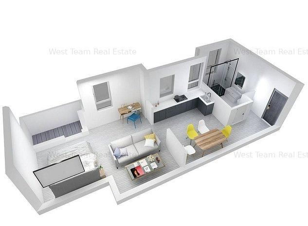 Oportunitate investitie! Apartament 1 camera zona Lipovei. - imaginea 1