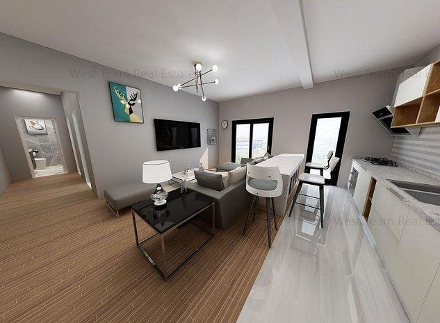 Apartamet 2+1/2 camere, dela 76.500 euro  Torontalului! comision 0% - imaginea 1
