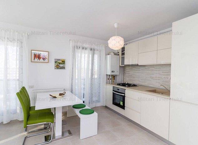 Apartament 3 cam dec bloc nou Militari Auchan - imaginea 1