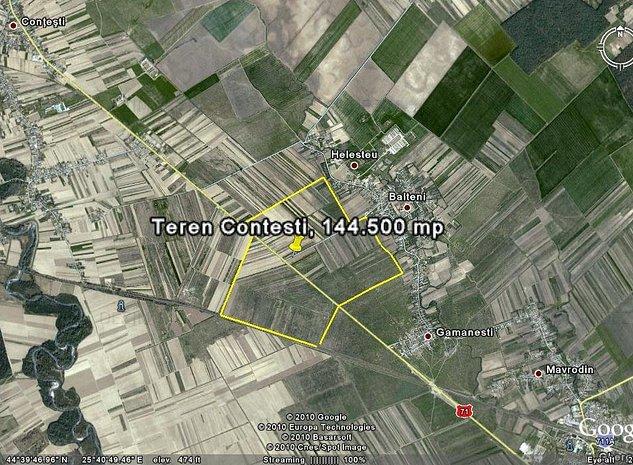 Vand teren Contesti Dambovita 45.146 mp  - imaginea 1