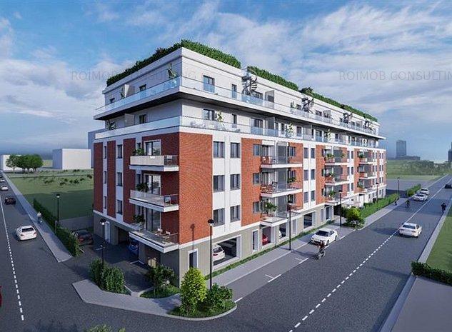 Bulevardul Pipera pod apartament 2 camere finisaje premium imobil 2020 - imaginea 1