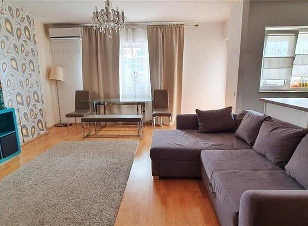Barbu Vacarescu Estia Residence duplex 3 camere vedere spectaculoasa - imaginea 1