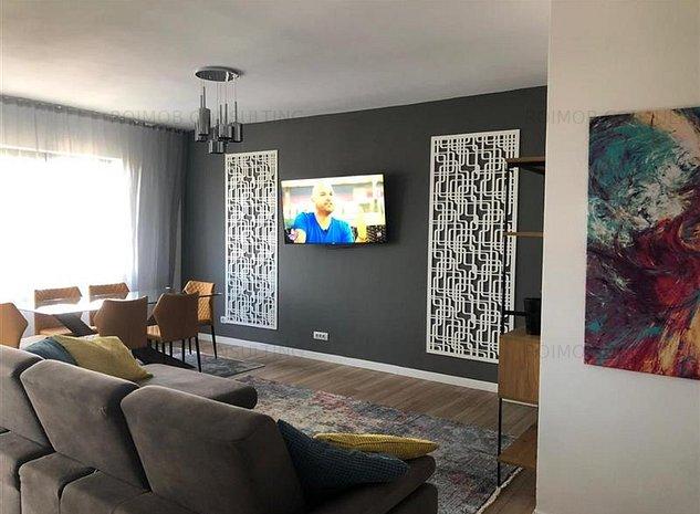 Grozavesti Exigent One apartament 3 camere mobilat utilat premium 95mp - imaginea 1