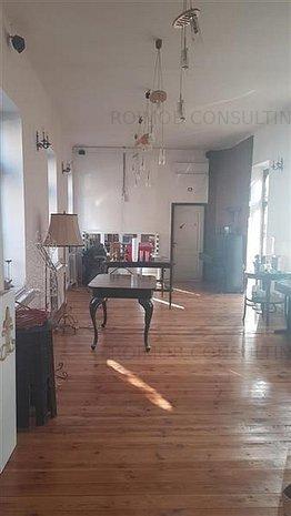 Timpuri Noi, vila pentru birouri/showroom, 125 mp, open space, curte - imaginea 1