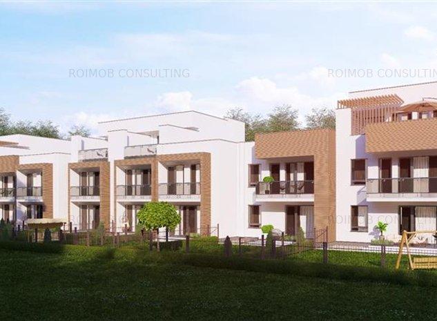 Comision 0% Stejarul Residence Pipera P+1E cu gradina si TVA inclus - imaginea 1