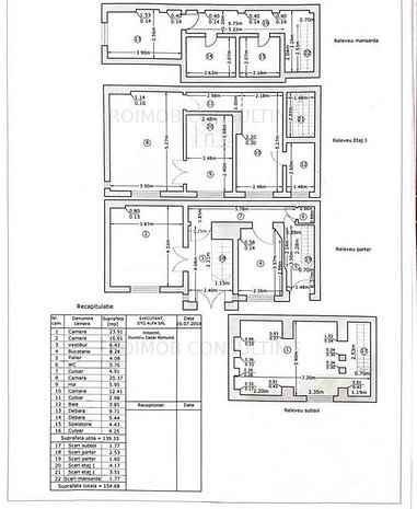 Vila 4 camere,140 mp utili,zona Cismigiu - imaginea 1