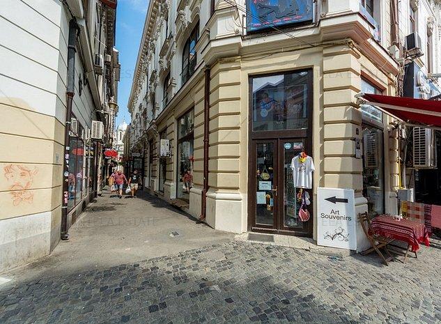 Spatii comerciale/ birou in cladire consolidata Blanari & Lipscani, acces auto - imaginea 1