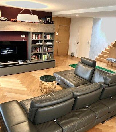 Luxurious 4 rooms/3 beds triplex Dorobanti / Capitale - imaginea 1