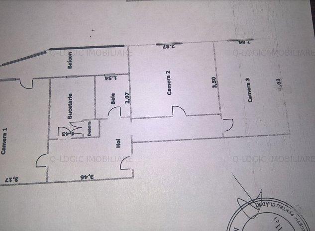 Apartament 3 camere zona Bartolomeu - imaginea 1