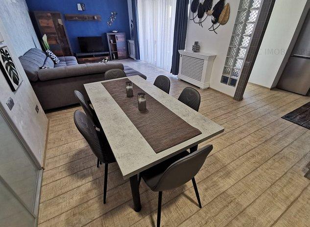 Apartament 3 camere mobilat si utilat lux zona Central - imaginea 1