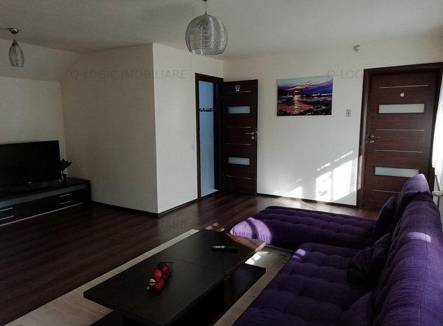 Corp de casa pe 2 niveluri, 4 camere mobilat si utilat modern zona Str. Lunga - imaginea 1