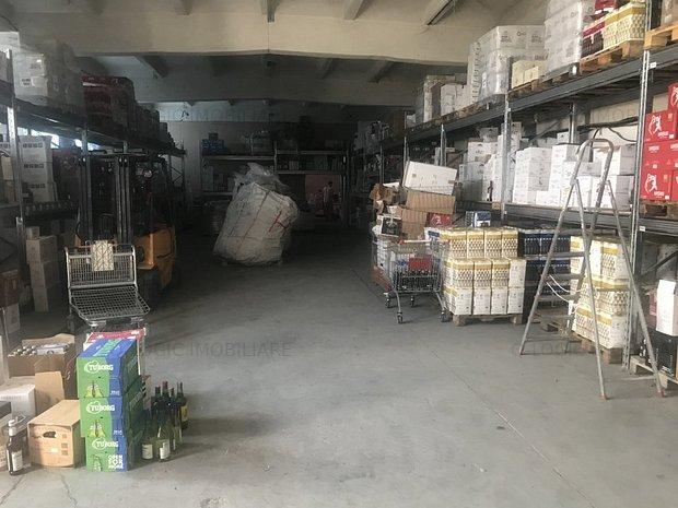 Hala industriala, spatiu birouri - la ocolitoare (spre Stupini) - imaginea 1