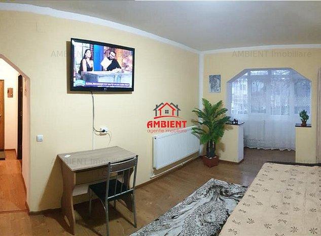 Apartament 2 camere, mobilat si utilat, zona Buium (*264) - imaginea 1