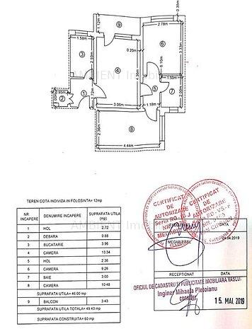Apartament 3 camere, zona Smardan; - imaginea 1