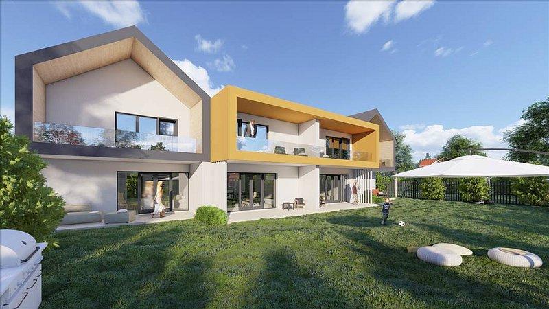 Vanzare casa tip duplex, caramida integral, Tarlungeni, Brasov