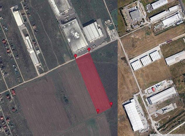 Teren intravilan de vanzare - centura strada Dealu Mare -fabrica Cipita - imaginea 1