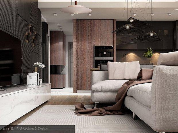 Elegant House Centrul Civic - Apartament 3 camere cu loc parcare inclus - imaginea 1