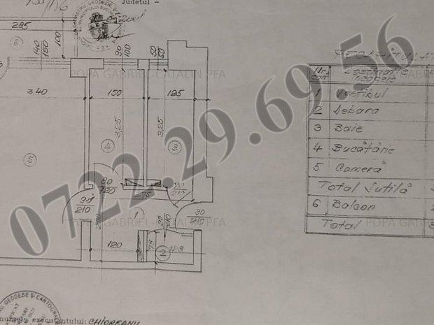 Garsoniera decomandata Titan bloc mixt constr. 1979 - imaginea 1