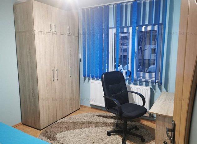 Apartament 3 camere, decomandat, la parter, cu boxa spatioasa, Buziasului - imaginea 1