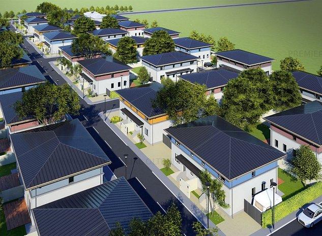 4 tipuri de case in Berceni Sector 4 , curte si 2 locuri parcare - imaginea 1