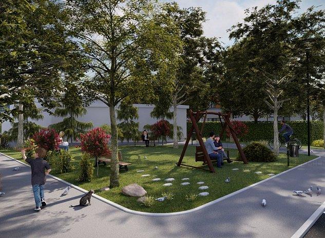Proiect rezidential 80 de case in sector 4 Berceni , curte proprie - imaginea 1